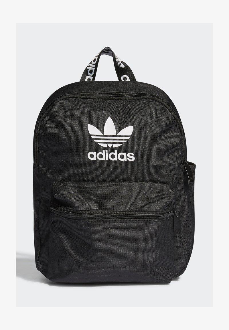 adidas Originals - SMALL ADICOL BP ORIGINALS ADICOLOR PRIMEGREEN BACKPACK - Batoh - black/white