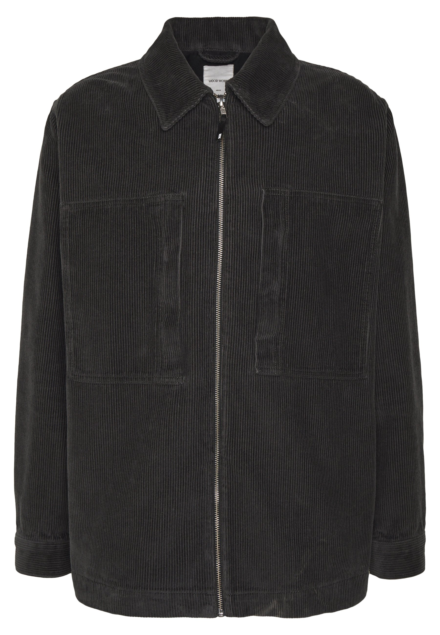 Wood Wood GALE JACKET CORD - Veste légère - black