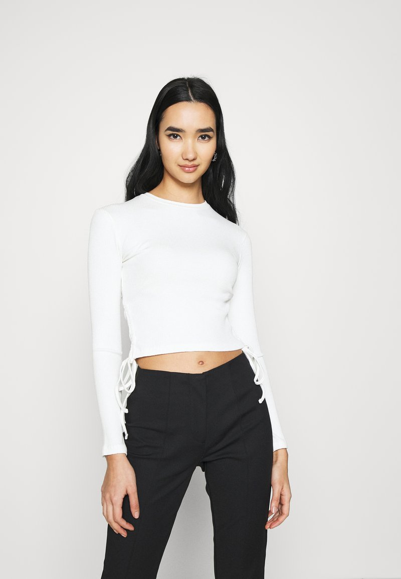 Even&Odd - Long sleeved top - off white
