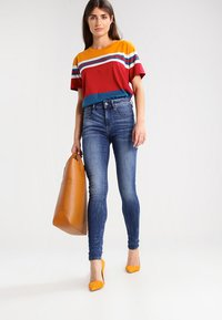 G-Star - 3301 HIGH SKINNY   - Jeans Skinny Fit - medium indigo aged - 2