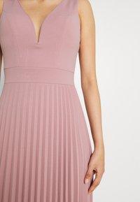 WAL G. - SAFA PLEATED MAXI DRESS - Occasion wear - blush pink - 4