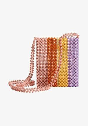 Across body bag - viola chiaro pastello