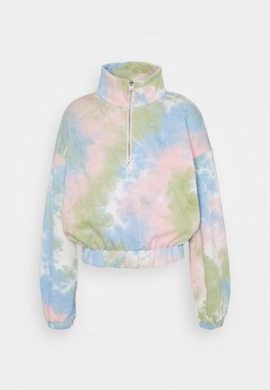 LADIES TIE DYE - Sweatshirt - pink/multi-coloured
