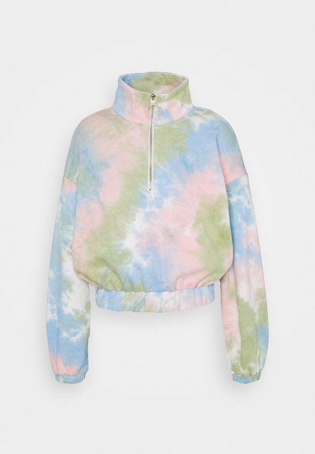 LADIES TIE DYE - Bluza - pink/multi-coloured