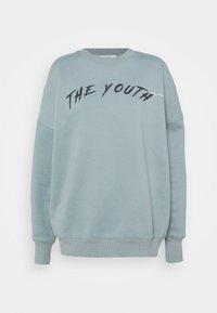YOUTHCOLLAGECREWNECK - Sweatshirt - stonegreen