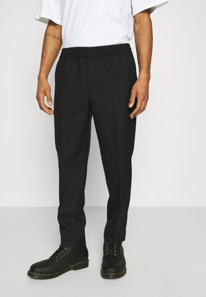TROUSERS - Tygbyxor - black