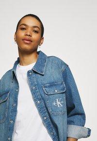 Calvin Klein Jeans - OVERSHIRT - Skjorte - blue - 3
