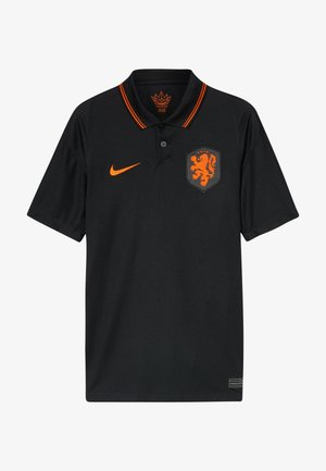 NIEDERLANDE KNVB Y NK BRT STAD SS AW - National team wear - black/safety orange