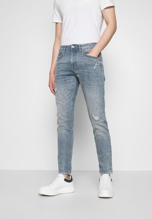 CONROY - Slim fit jeans - light stone blue/grey denim blue