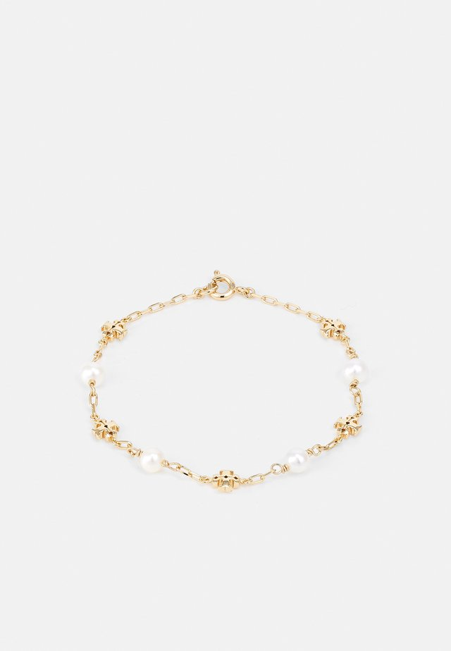KIRA PEARL CHAIN BRACELET - Bracelet - gold-coloured