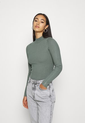 Jumper - light olive