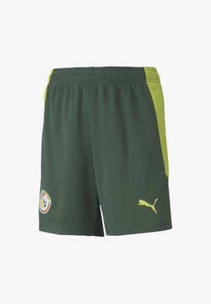 SENEGAL AWAY REPLICA - Sports shorts - dark green-limepunch
