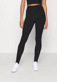 New Look - 3PC SET - Tracksuit bottoms - black - 3