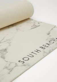 South Beach - MARBLE PRINT MAT - Fitness/yoga - white/grey - 3