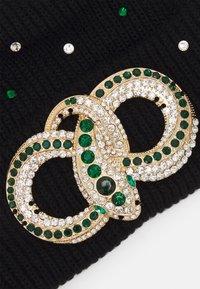 ALDO - QIAVIA - Lue - black/emerald green/gold-coloured combo - 2