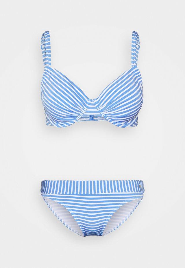 WIRE SET - Bikini - light blue