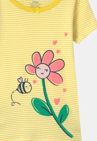 Carter's - FLOWER 2 PACK - Pyjamas - green/yellow - 5