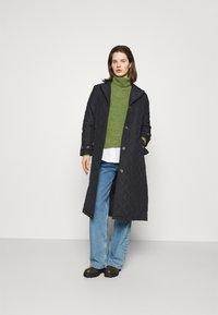 Freequent - URBAN - Classic coat - black - 1