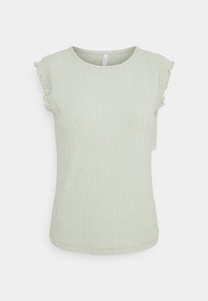 ONLNICE FRILL - T-shirt basique - desert sage