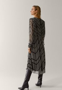 Massimo Dutti - Shift dress - black - 2