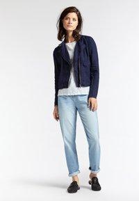 Sandwich - Faux leather jacket - blue - 1