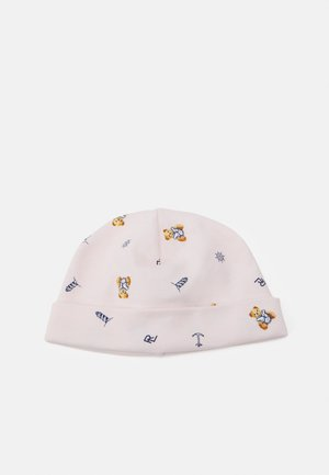 BEANIE APPAREL ACCESSORIES HAT - Čepice - pink