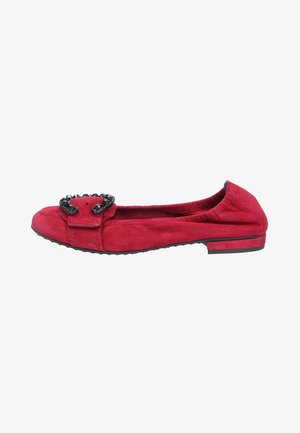 Foldable ballet pumps - rot