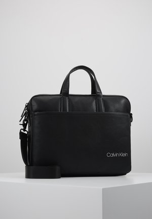 DIRECT SLIM LAPTOP BAG - Aktówka - black