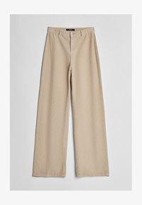 Bershka - Pantalon classique - beige - 4