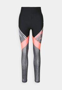 ONLY Play - ONPJUDIE TRAINING  - Leggings - black/fiery coral - 3