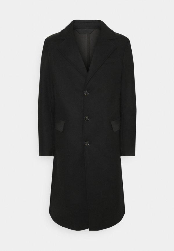 Diesel COLBAX GIACCA - Płaszcz wełniany /Płaszcz klasyczny - black/czarny Odzież Męska ISEN