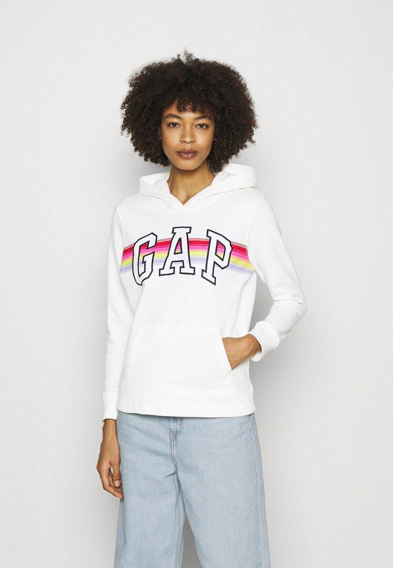 GAP - V-GAP ARCH - Sweatshirt - white