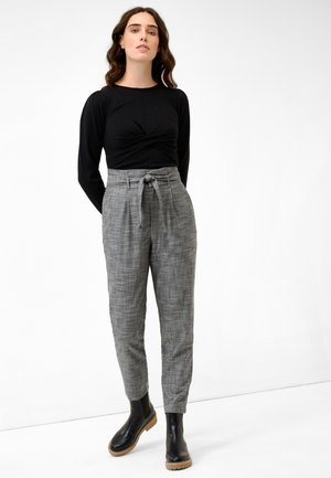 PAPER - Trousers - grau