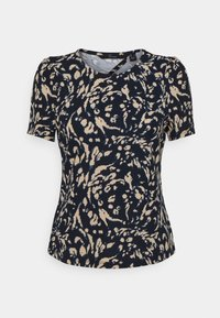 Vero Moda - VMHAILEY - Print T-shirt - navy blazer - 4