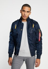 Alpha Industries - Bomber Jacket - repl. blue - 0