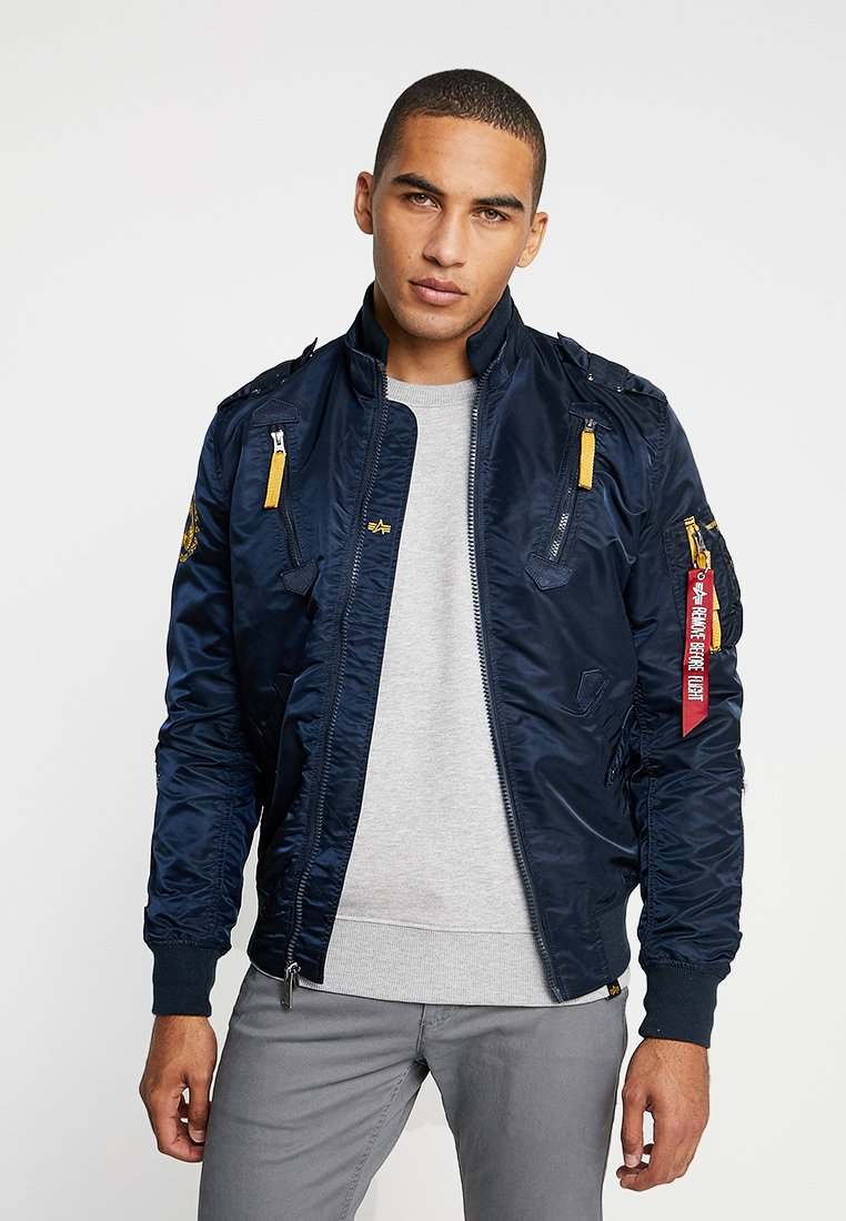 Alpha Industries - Bomber Jacket - repl. blue