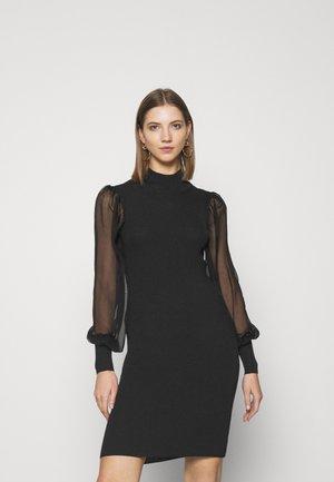 YASMELANIE DRESS - Shift dress - black