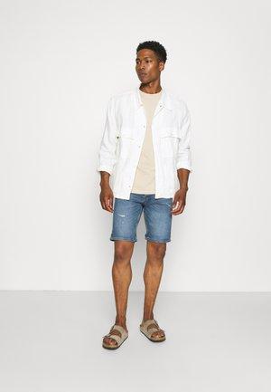 CORE 3 PACK - T-shirt basic - off white/stone/light blue
