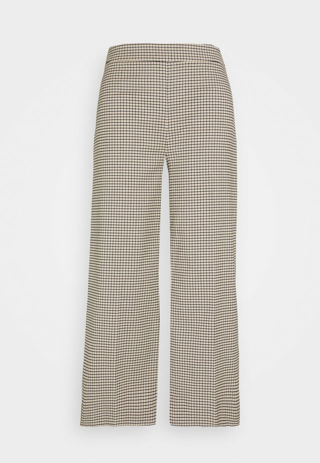 KELLY TROUSERS - Tygbyxor - taupe