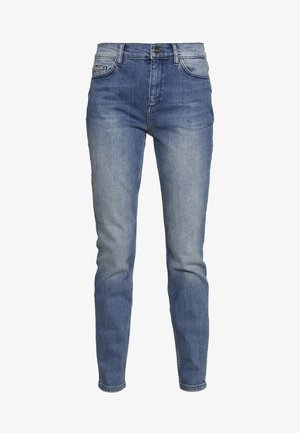 TROUSERS - Skinny džíny - blue denim stretch