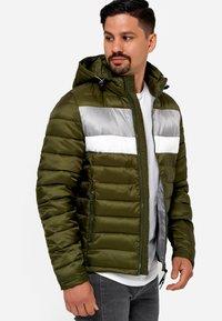 INDICODE JEANS - Winter jacket - cypress - 4