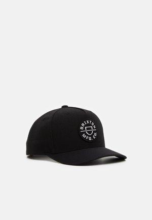 CREST SNAPBACK UNISEX - Casquette - black
