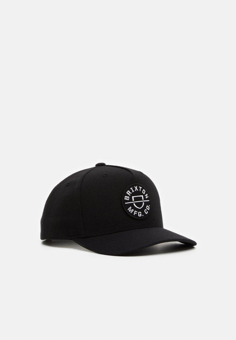 Brixton - CREST SNAPBACK UNISEX - Cap - black