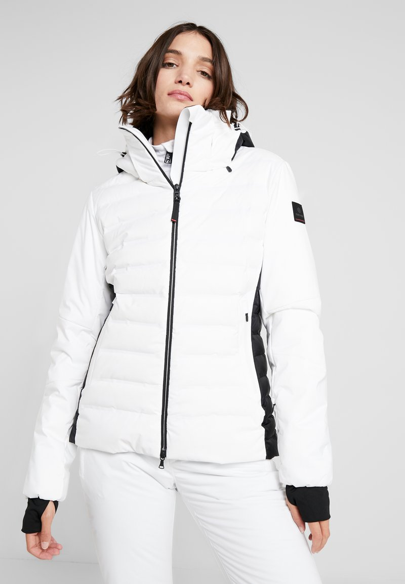 Bogner Fire + Ice - CANDRA - Kurtka narciarska - white/black