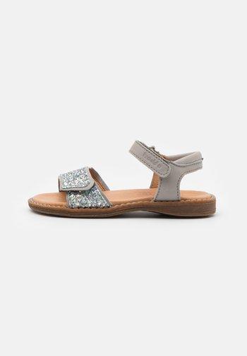 LORE SPARKLE - Sandals - light grey