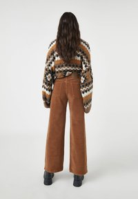 PULL&BEAR - Bukser - mottled brown - 2