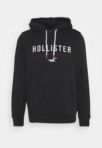 Hollister Co. - TECH LOGO - Sweatshirt - black - 4