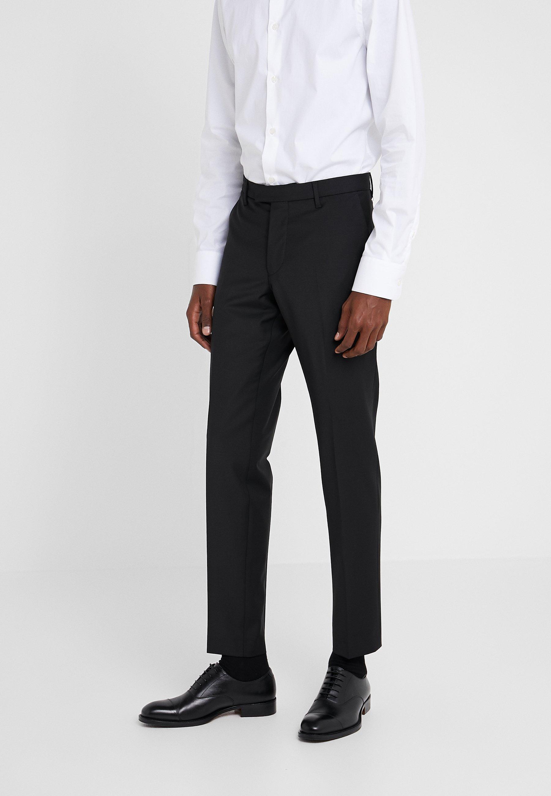 Homme PIET - Pantalon classique - black
