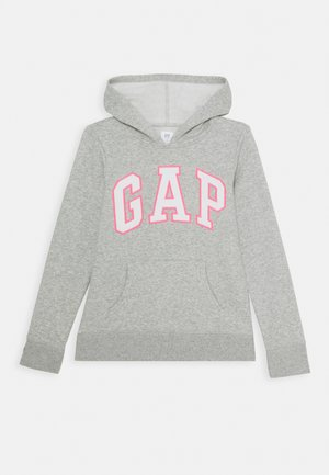 GIRLS LOGO HOOD - Hoodie - light heather grey