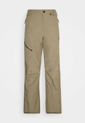 GORE TEX PANT - Zimní kalhoty - teak